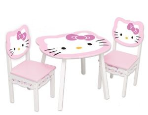 Hello kitty for Table et chaise petite fille
